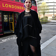 Micol Rigni from Italy attend The Mayor of London, Sadiq Khan, launch a branded 'We are all Londoners' bus as it begins a four-day 'Advice Roadshow' around the capital. The bus will visit locations in areas with high numbers of European nationals, offering them guidance on how to apply for Settled to Status to remain in the UK following Brexit on 29 March 2019, London, UK.