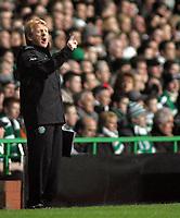 Photo: Paul Thomas.<br /> Glasgow Celtic v AC Milan. UEFA Champions League. Last 16, 1st Leg. 20/02/2007.<br /> <br /> Gordan Strachan, manager of Celtic.
