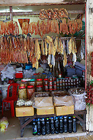 food in the Old Market, Siem Reap Cambodia