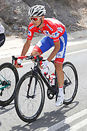 Rudy Molard (FRA - Groupama - FDJ) Red jersey, during the UCI World Tour, Tour of Spain (Vuelta) 2018, Stage 6, Huercal Overa - San Javier Mar Menor 155,7 km in Spain, on August 30th, 2018 - Photo Luis Angel Gomez / BettiniPhoto / ProSportsImages / DPPI