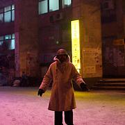 January 29, 2014 - Kiev, Ukraine: Anti-government protestors continue to demonstrate in Kiev's Independence Square. (Paulo Nunes dos Santos)