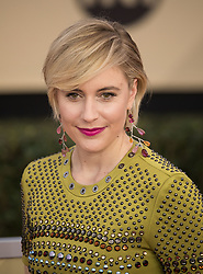 January 21, 2018 - Los Angeles, California, U.S - GRETA GERWIG during red carpet arrivals for the 24th Annual Screen Actors Guild Awards, held at The Shrine Expo Hall. (Credit Image: © Javier Rojas/Prensa Internacional via ZUMA Wire)