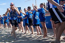 25-08-2019 NED: DELA NK Beach Volleyball, Scheveningen<br /> Last day NK Beachvolleyball / Alexander Brouwer #1