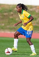 "Fifa Womans World Cup Canada 2015 - Preview //<br /> Algarve Cup 2015 Tournament ( Municipal Stadium - Albufeira , Portugal ) - <br /> Brazil vs China 0-0 - Miraildes Maciel Mota  "" FORMIGA "" of Brazil"