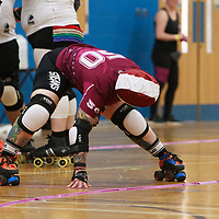 New Wheeled Order take on Mild Discomfort in the Tier 1 MRDA Semi Final British Champs 2019 Playoffs at Fenton Manor Sports Complex, Stoke-on-Trent, 2019-09-21