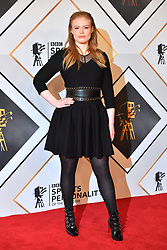 Freya Ridings during the red carpet arrivals for the BBC Sports Personality of the Year 2018 at The Vox at Resorts World Birmingham.