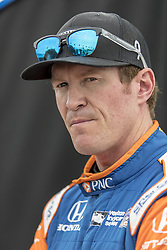 March 10, 2018 - St. Petersburg, Florida, United States of America - March 10, 2018 - St. Petersburg, Florida, USA: Scott Dixon (9) debriefs after a practice session for the Firestone Grand Prix of St. Petersburg at Streets of St. Petersburg in St. Petersburg, Florida. (Credit Image: © Walter G Arce Sr Asp Inc/ASP via ZUMA Wire)