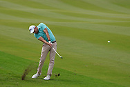 Maximilian Kieffer (GER) on the 9th during Round 1 of the Oman Open 2020 at the Al Mouj Golf Club, Muscat, Oman . 27/02/2020<br /> Picture: Golffile | Thos Caffrey<br /> <br /> <br /> All photo usage must carry mandatory copyright credit (© Golffile | Thos Caffrey)