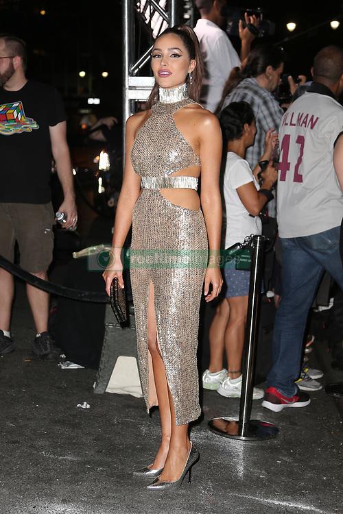 Olivia Culpo seen arriving at the E! Entertainment kick-off party. 05 Sep 2018 Pictured: Olivia Culpo. Photo credit: MEGA TheMegaAgency.com +1 888 505 6342
