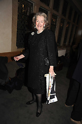 RAINE, COUNTESS SPENCER at a party to celebrate the publication of 'Past Imperfect' by Julian Fellowes held at Cadogan Hall, 5 Sloane Terrace, London SW1 on 4th November 2008.