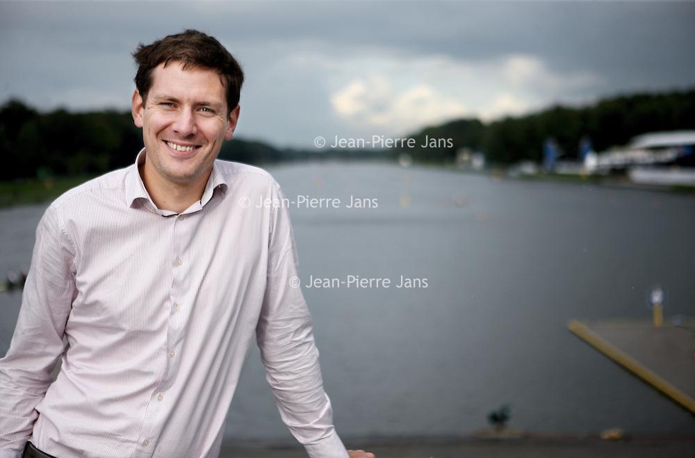 Nederland, Amsterdam , 22 augustus 2014.<br /> Sjoerd Herman Hamburger (Oldeberkoop, 8 februari 1983) is een Nederlands roeier in de skiffklasse. Hij vertegenwoordigde Nederland tweemaal bij de Olympische Spelen, maar won tot nu toe nog geen medaille.<br /> Foto:Jean-Pierre Jans