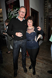 RUBY WAX and her husband ED BYE at the gala night party of Losing It staring Ruby Wax held at he Menier Chocolate Factory, 51-53 Southwark Street, London SE1 on 23rd February 2011.