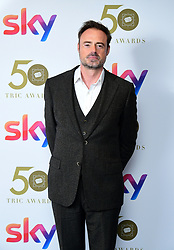 Jamie Theakston attending the TRIC Awards 2019 50th Birthday Celebration held at the Grosvenor House Hotel, London.