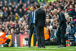 September 22, 2018 - Slavisa Jokanovic manager of Fulham during the Premier League match between Fulham and Watford at Craven Cottage, London, England on 22 September 2018. Photo by Salvio Calabrese. (Credit Image: © AFP7 via ZUMA Wire)