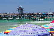 Summer In San Clemente At The Pier