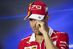 August 31, 2017 - Monza, Italy - Motorsports: FIA Formula One World Championship 2017, Grand Prix of Italy, ..#5 Sebastian Vettel (GER, Scuderia Ferrari) (Credit Image: © Hoch Zwei via ZUMA Wire)
