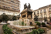 Granada, Andalusia, Spain Plaza Isabel la Catolica