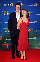 Jonny Knowlson and Kay Burley attending the premiere of Cirque du Soleil's Totem, in support of the Sentebale charity, held at the Royal Albert Hall, London.