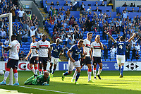 Football - 2019 / 2020 Sky Bet (EFL) Championship - Cardiff City vs. Middlesbrough<br /> <br /> Darren Randolph of Middlesbrough  prone on the floor as his team concede an own goal in the 2nd minute, at the Cardiff City Stadium.<br /> <br /> COLORSPORT/WINSTON BYNORTH
