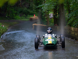 Boness Revival hillclimb motorsport event in Boness, Scotland, UK. The 2019 Bo'ness Revival Classic and Hillclimb, Scotland's first purpose-built motorsport venue, it marked 60 years since double Formula 1 World Champion Jim Clark competed here.  It took place Saturday 31 August and Sunday 1 September 2019. 173.