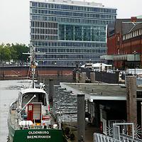 Europe, Germany, Hamburg. HafenCity