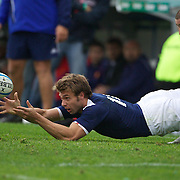 Vincent Clerc, France, in action during the Argentina V France test match at Estadio Jose Amalfitani, Buenos Aires,  Argentina. 26th June 2010. Photo Tim Clayton....