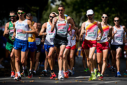 August 11, 2018 - Berlin, GERMANY - 180811 Christopher Linke of Germany competes in the men's 20 km race walk final during the European Athletics Championships on August 11, 2018 in Berlin..Photo: Vegard Wivestad GrÂ¿tt / BILDBYRN / kod VG / 170204 (Credit Image: © Vegard Wivestad Gr¯Tt/Bildbyran via ZUMA Press)