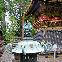 Asia, Japan, Nikko. Toshogu Shrine and mausoleum in the forest of Nikko, a UNESCO World Heritage Site.
