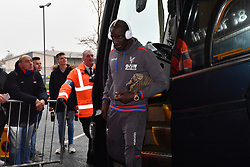 """Crystal Palace's Bakary Sako before the Premier League match at The Hawthorns, West Bromwich. PRESS ASSOCIATION Photo Picture date: Saturday December 2, 2017. See PA story SOCCER WBA. Photo credit should read: Anthony Devlin/PA Wire. RESTRICTIONS: EDITORIAL USE ONLY No use with unauthorised audio, video, data, fixture lists, club/league logos or """"live"""" services. Online in-match use limited to 75 images, no video emulation. No use in betting, games or single club/league/player publications."""