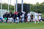 Italy celebrate a goal during the UEFA European Under 17 Championship 2018 match between Israel and Italy at St George's Park National Football Centre, Burton-Upon-Trent, United Kingdom on 10 May 2018. Picture by Mick Haynes.