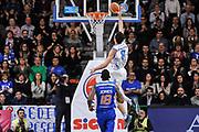 DESCRIZIONE : Campionato 2014/15 Serie A Beko Dinamo Banco di Sardegna Sassari - Acqua Vitasnella Cantu'<br /> GIOCATORE : Giacomo Devecchi<br /> CATEGORIA : Schiacciata Controcampo<br /> SQUADRA : Dinamo Banco di Sardegna Sassari<br /> EVENTO : LegaBasket Serie A Beko 2014/2015<br /> GARA : Dinamo Banco di Sardegna Sassari - Acqua Vitasnella Cantu'<br /> DATA : 28/02/2015<br /> SPORT : Pallacanestro <br /> AUTORE : Agenzia Ciamillo-Castoria/L.Canu<br /> Galleria : LegaBasket Serie A Beko 2014/2015
