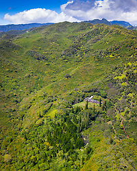 Robinson's Plantation House, Hanapepe Valley, Kauai, Hawaii, USA