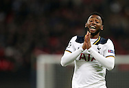 Tottenham's Georges-Kevin N'Koudou in action during the Champions League group match at Wembley Stadium, London. Picture date December 7th, 2016 Pic David Klein/Sportimage