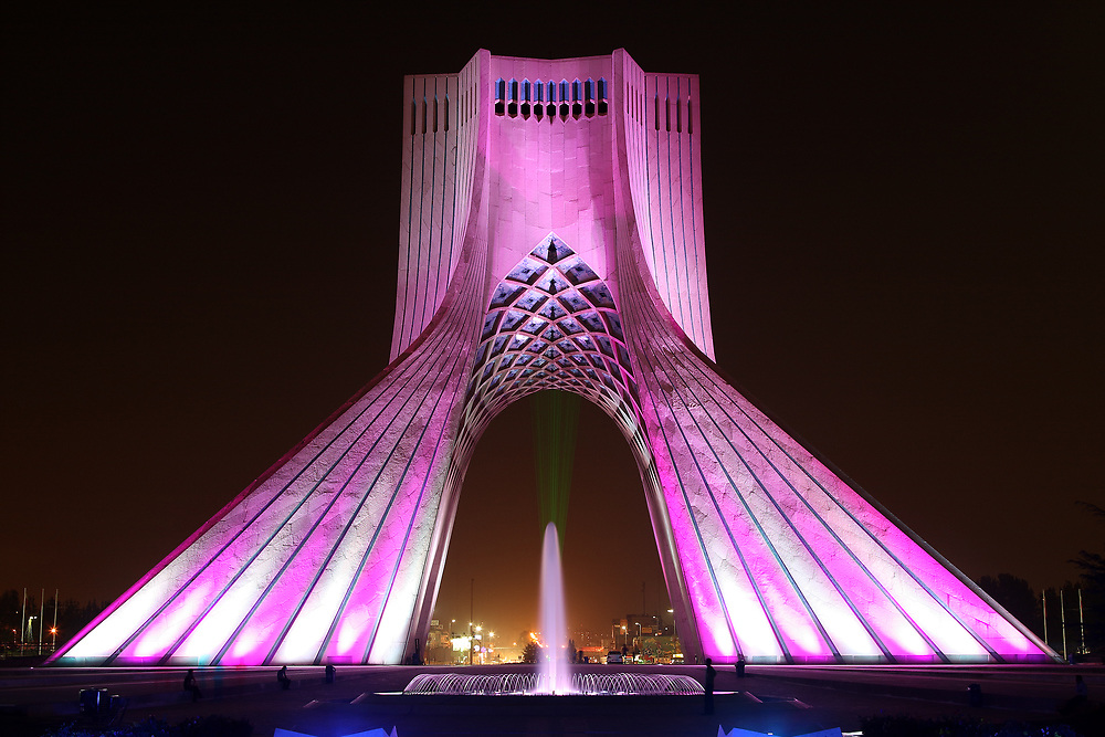 The Azadi Monument, Tehran, Iran