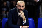 Buscaglia Maurizio<br /> Vanoli Cremona - Dolomiti Energia Trento<br /> Lega Basket Serie A 2018/2019<br /> Reggio Emilia, 20/01/2019<br /> Foto A.Giberti / Ciamillo - Castoria