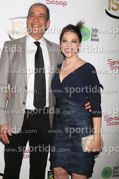 Michael Browers, Kathleen Gati at the 7th Annual Indie Series Awards at the El Portal Theater on April 6, 2016 in North Hollywood, CA. EXPA Pictures © 2016, PhotoCredit: EXPA/ Photoshot/ Kerry Wayne<br /> <br /> *****ATTENTION - for AUT, SLO, CRO, SRB, BIH, MAZ, SUI only*****