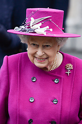 HM Queen Elizabeth II attends the reopening of The Sir Joseph Hotung Gallery at the British Museum, London. Picture credit should read: Doug Peters/EMPICS Entertainment