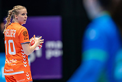 Danick Snelder of Netherlands in action during the Women's friendly match between Netherlands and Slovenia at De Maaspoort on march 19, 2021 in Den Bosch, Netherlands (Photo by RHF Agency/Ronald Hoogendoorn)