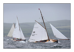 Day two of the Fife Regatta,Passage race to Rothesay.<br /> <br /> Ayrshire Lass, Paul Goss / Theo Rye, GBR, Gaff Cutter, Wm Fife 2nd, 1887<br /> <br /> * The William Fife designed Yachts return to the birthplace of these historic yachts, the Scotland's pre-eminent yacht designer and builder for the 4th Fife Regatta on the Clyde 28th June–5th July 2013<br /> <br /> More information is available on the website: www.fiferegatta.com