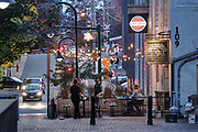 The Charlottesville Downtown Mall in Charlottesville, Va.  Photo/Andrew Shurtleff Photography, LLC