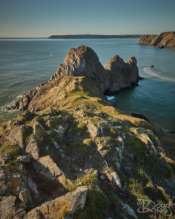 Three Cliffs Bay, Gower, South Wales