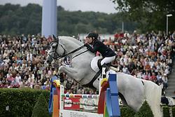 Alexander E- Cavalor's Cumano<br /> World Equestrian Games Aachen 2006<br /> Photo © Hippo Foto
