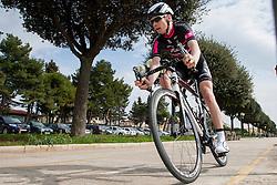 Ziga Rucigaj of KK Radenska Kuota during prologue (2km) of 13th Istrian Spring Trophy cycling race on March 10, 2016 in Umag, Croatia. Photo by Urban Urbanc / Sportida