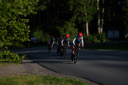 Lisa Klein leads Cervélo Bigla at the Crescent Vargarda - a 42.5 km team time trial, starting and finishing in Vargarda on August 11, 2017, in Vastra Gotaland, Sweden. (Photo by Sean Robinson/Velofocus.com)