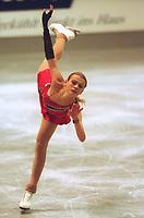 Kunstløp: Zoya Douchine, Tyskland.<br /><br />Foto: Digitalsport