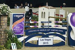 Alexander Edwina, (AUS), Fairlight <br /> Longines FEI World Cup™ Jumping Final I<br /> Las Vegas 2015<br />  © Hippo Foto - Dirk Caremans<br /> 17/04/15