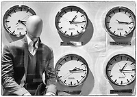 The Mannequin who lost his face to time; Time Warner Center, New York City
