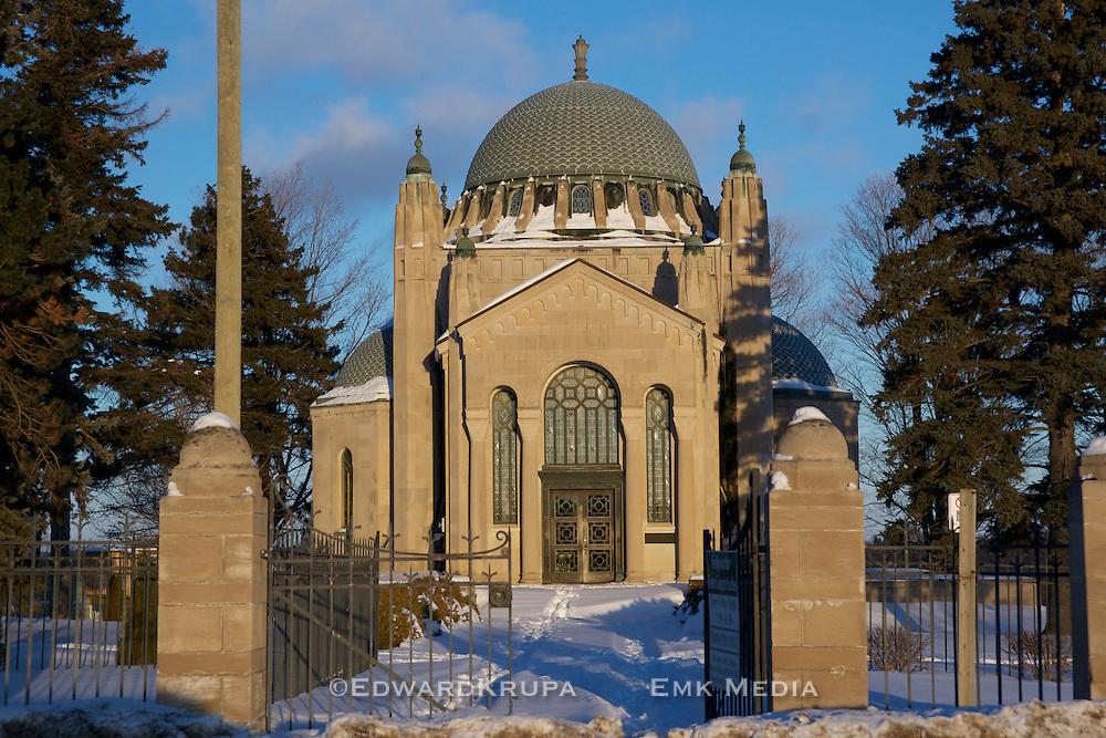 Thomas Foster Memorial Temple, near Uxbridge, Ontario, Canada.