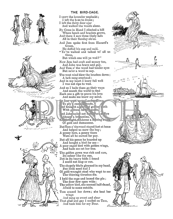 The Bird-Cage (illustrated poem)