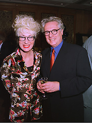 Actress JENNY ECLAIR and MR GEOFFREY POWELL at a luncheon in London on 11th December 1997.MEF 26